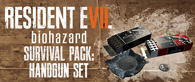 Resident Evil 7 Dlc Survival  Pack Chem Fluid And Handgun Set Xbox One
