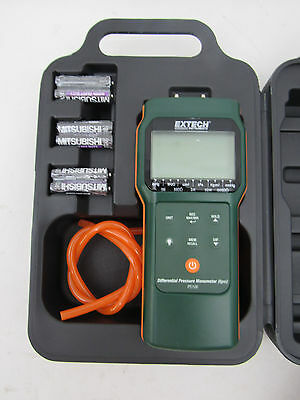 Extech Instruments PS106 Differential Pressure Manometer, 6 PSI