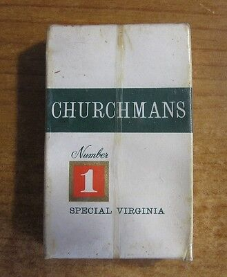 Churchmans Cigarettes Vintage Unopened - Live / New Old Stock 10 Pack