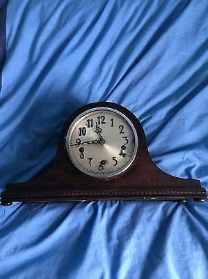 Antique Westminster Chimes Mantel Clock Enfield England