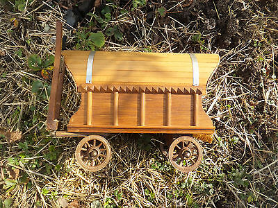 Antique Romany Gypsy Caravan Musical Music Needs repair Works sometimes