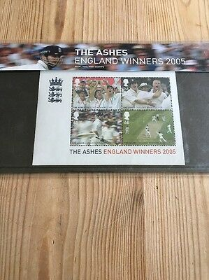England Ashes 2005 Winners Commemorative Stamps