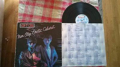 soft cell vinyl album non stop erotic cabaret