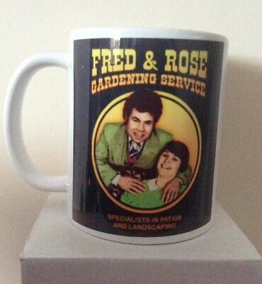 Fred And Rose West Offensive Novelty Mug