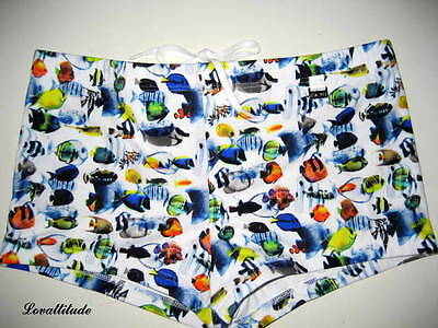 Hom Boxer De Bain Taille Fr/4 Beach Fun Nemo Boxer Trunks Usa/m Gb/34 Eur/5