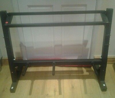 Pro fitness weight and dumbell rack