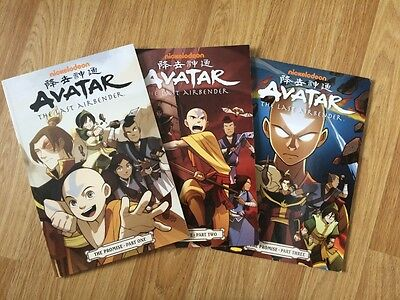 Avatar: the Last Airbender: The Promise Part 1 -3
