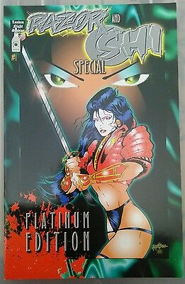 1994 RAZOR AND SHI SPECIAL #1 Platinum Ed. London Night Studios LINSNER