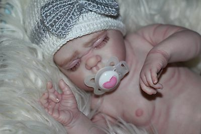 Reborn Baby~Angel Girl~Lifelike Details~Realistic Full Vinyl Body