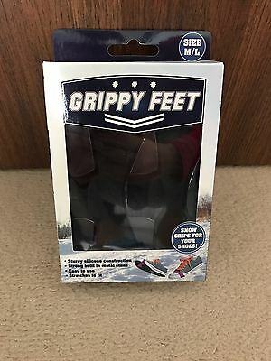 Grippy Feet Show Covers Ice Grips