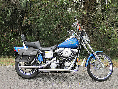 1996 Harley-Davidson Dyna  1996 Harley Davidson Dyna EVO 1340 only 2100 miles! Delivery Poss to FL/GA/SC/NC