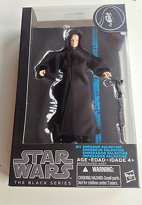 "Star Wars Black Series Emperor Palpatine ROTJ 6"" Action Figure Box Not Mint V2*"