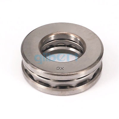 51315 75x135x44mm Axial Ball Thrust Bearing Set(2 Steel Races + 1 Cage)ABEC-1