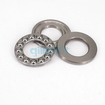 51234 170x240x55mm Axial Ball Thrust Bearing Set(2 Steel Races + 1 Cage)ABEC-1