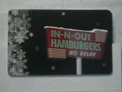 IN N OUT BURGER gift card no cash value and free shipping • $3.00 ...