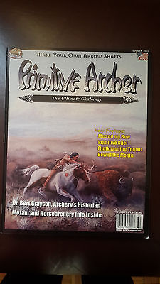 Primitive Archer Magazine -Bowhunting. Back issue. Summer 2003