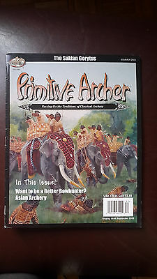 Primitive Archer Magazine -Bowhunting. Back issue. Summer 2005