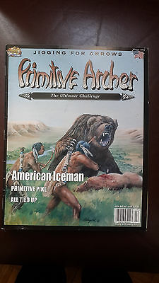 Primitive Archer Magazine -Bowhunting. Back issue. Winter 2002