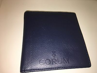 Corum Etui Wallet Booklet Service Centers for Warrantycard Admiral´s Cup