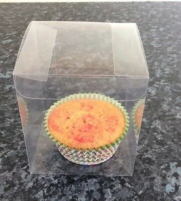 140 Acrylic Cake/favour boxes