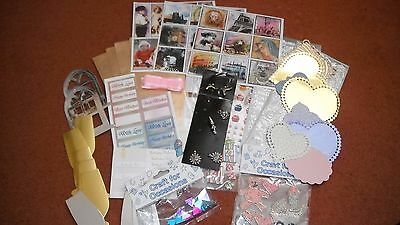 Craft Room Declutter Assrtd Craft Items to Clear Peel offs die cuts etc