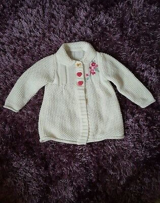 Bundle of knitted jumper for baby girls size 6-12 months