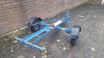 single motorbike Trailer  made by dave cooper