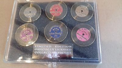 Elvis Presley Limited Edition Officially Licensed Collector Pin Set-6 Pins