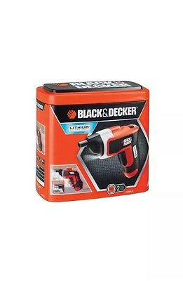 Black & Decker KC460LN Cordless Electric Screwdriver + Case & Accessories