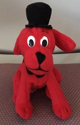 SMALL sitting Clifford The Big Red Dog by Scholastic
