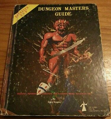 AD&D Advanced Dungeons & Dragons Dungeon Master Guide 1979 1st edition Rare!!