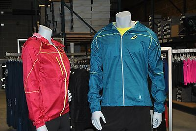 asics packable jacket mens Blue