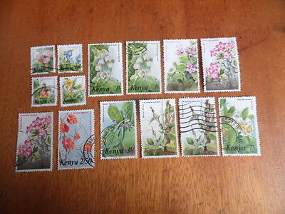 Kenya ~ Mixed Flowers ~ Lot 9 ( Some Paper Remnants )