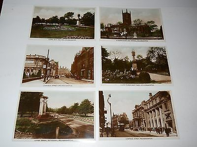 SIX GLOSSY VINTAGE POSTCARDS of WOLVERHAMPTON.