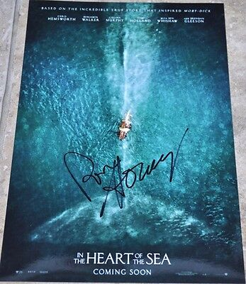"Ron Howard Signed 12"" x 8"" Colour Photo In The Heart Of The Sea"
