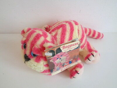 """BAGPUSS - 5"""" BEANIE SOFT TOY by GOLDEN BEAR - NEW WITH TAG"""