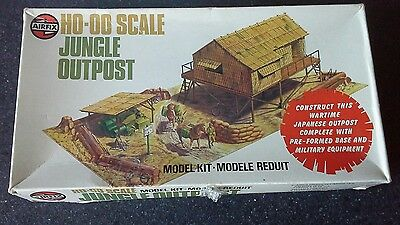 1/76 Airfix Jungle Outpost , Boxed With Base