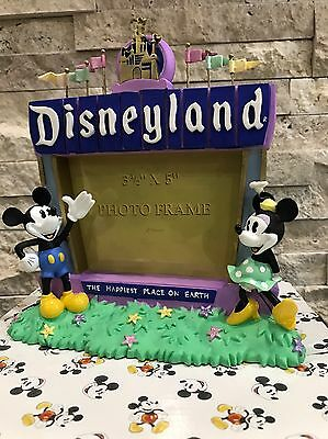 disneyland mickey and minnie picture frame 35 x 5
