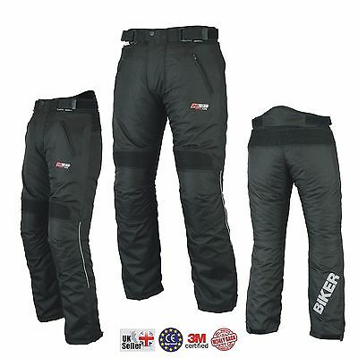 New BIKER Ladies Girls Womens Motorcycle Trouser Motorbike Trousers Pant Armour