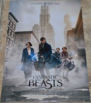 "Carmen Ejogo Signed 12"" x 8"" Photo Fantastic Beasts And Where To Find Them"