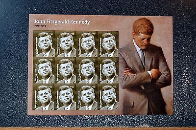 2017USA #5175 Forever John F Kennedy - Sheet of 12  Mint NH  president  JFK