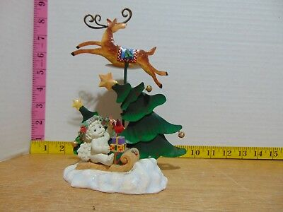 2001 Reindeer Games Candle Holder Dreamsicles