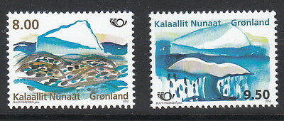 Groenland Année 2012  2 timbres europa