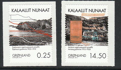Groenland Année 2012  2 timbres 590 - 591