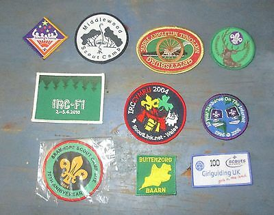 10 Scout badges (All New)