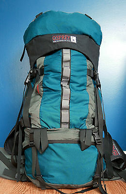 Osprey Silhouette expedition backpack, USA made, 90L (5,400 in³), men size