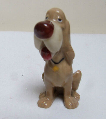 WADE PORCELAIN LADY & THE TRAMP HAT BOX SERIES 1950's TRUSTY