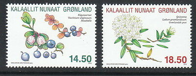 Groenland Année 2012  2 timbres baies