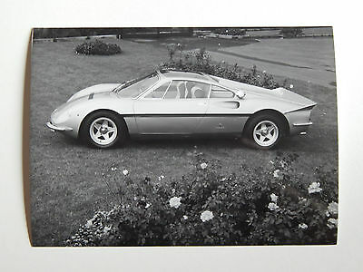 Original Ferrari 365P Pininfarina Press Photo 275 330 365