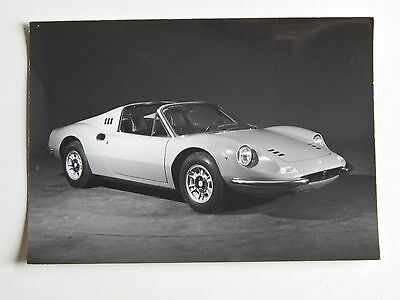 Original Ferrari 246 Dino GTS Pininfarina Press Photo 275 330 365
